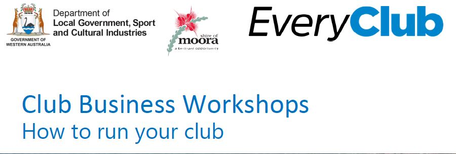 Club Business Workshops:  How to run your club