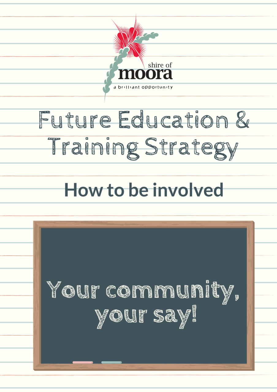 Future Education and Training Strategy - How to be involved