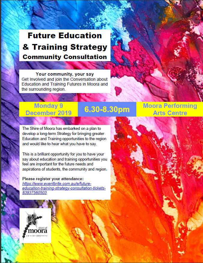 Future Education  & Training Strategy Community Consultation