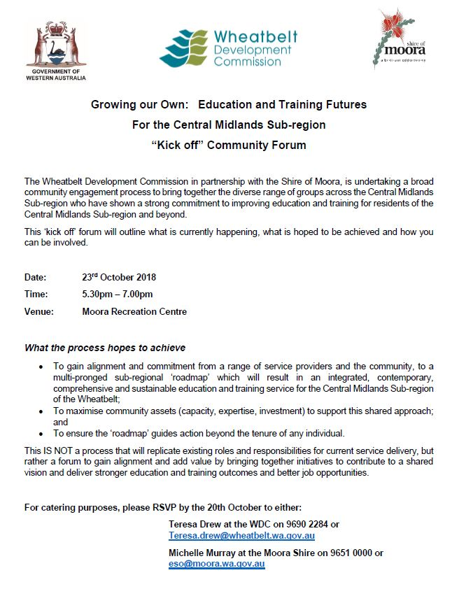 Growing our Own: Education and Training Futures