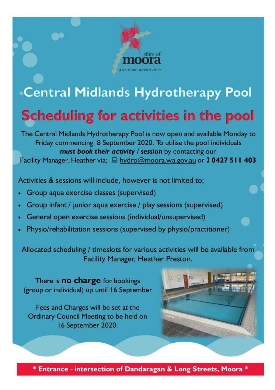 Central Midlands Hydrotherapy Pool