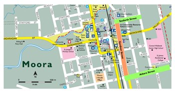 Proposal for reduction in Speed Zone sections of Gardiner Street, Moora
