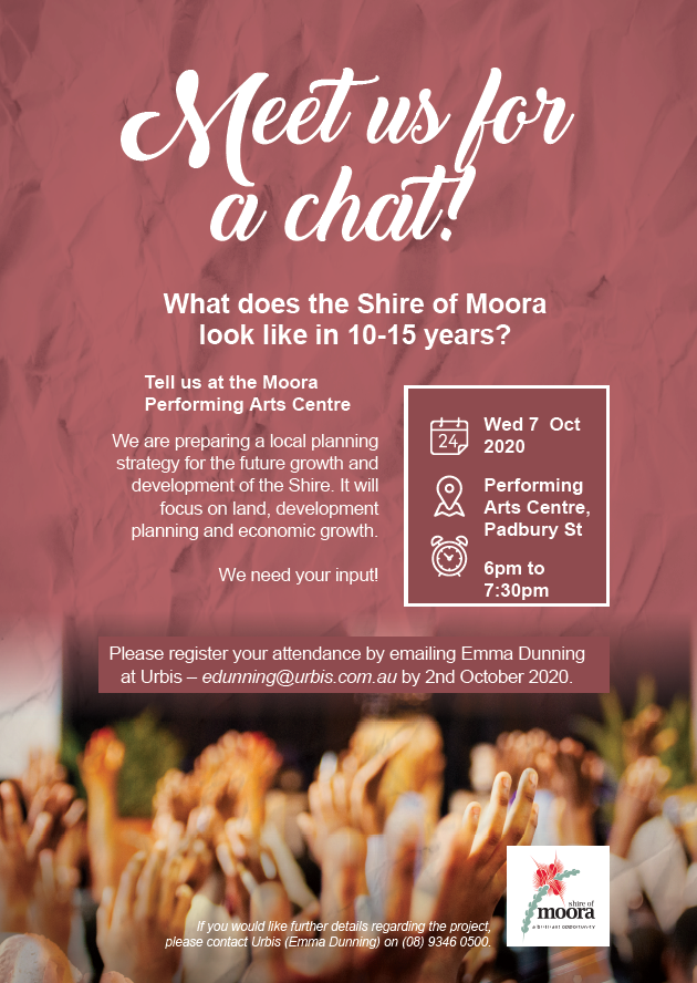 Shire of Moora Local Planning Strategy