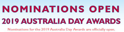 2019 Australia Day Awards