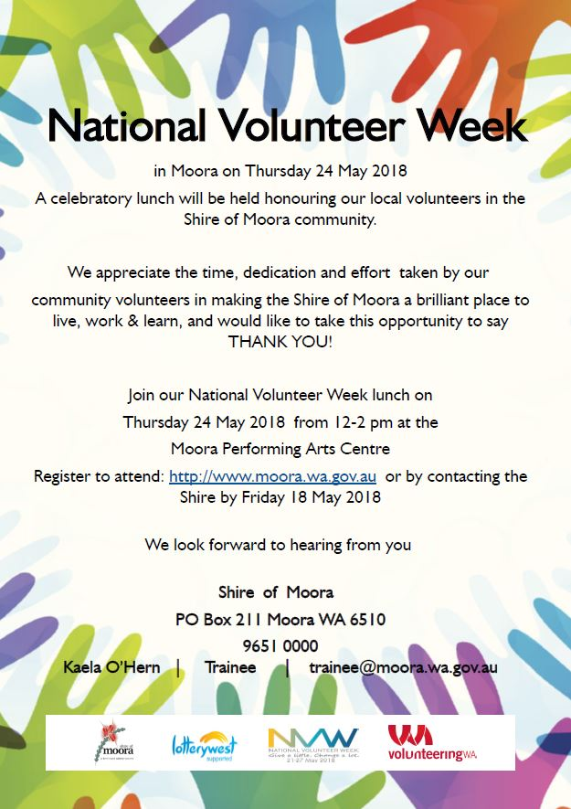National Volunteer Week Lunch