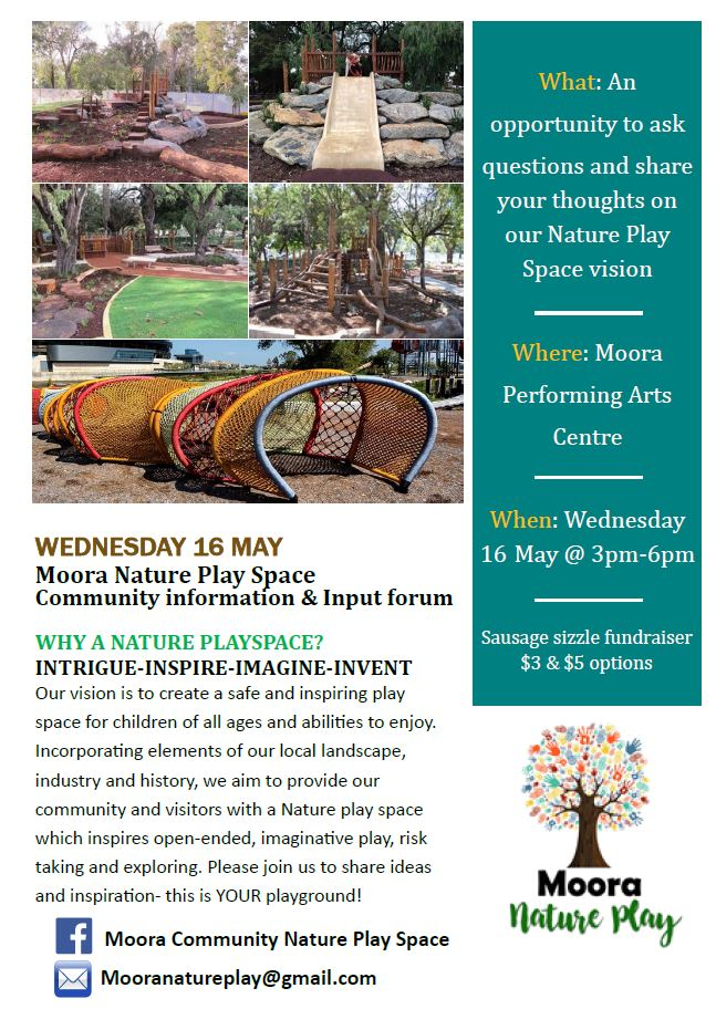 News Story: Moora Nature Play Space