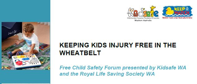 KEEPING KIDS INJURY FREE IN THE WHEATBELT